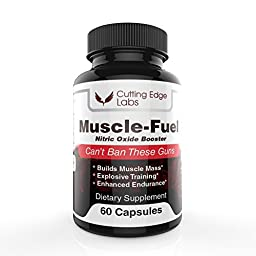 Best Nitric Oxide Supplement | Build Muscle Fast With Scientifically PROVEN L-Arginine | Enhance Endurance, Strength and Energy | Post-Workout Muscle Recovery