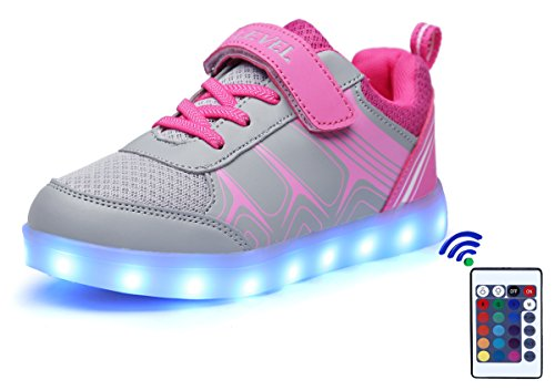 SLEVEL Colors Remote Flashing Sneakers product image