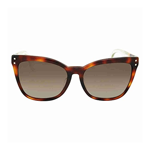 Fendi Wayfarer Brown Shade Asia Fit - Fendi Brown