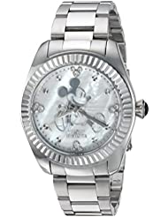 Invicta Womens Quartz Stainless Steel Casual Watch, Color:Silver-Toned (Model: 24914)