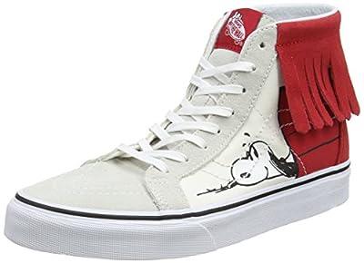 Vans Sk8-Hi Moc (Peanuts) Unisex Casual Sneakers