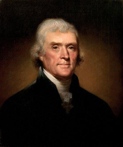 (Thomas Jefferson by Rembrandt Peale Photo Art Photos 8x10)
