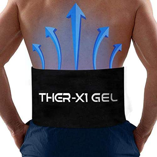 Ice Packs for Injuries Large Reusable Gel Pad for Back Pain, Hip, Knee, Cold Therapy Relief Wrap