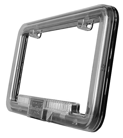 StreetGlow ANLPNB Neon License Plate Frame   Neo Blue