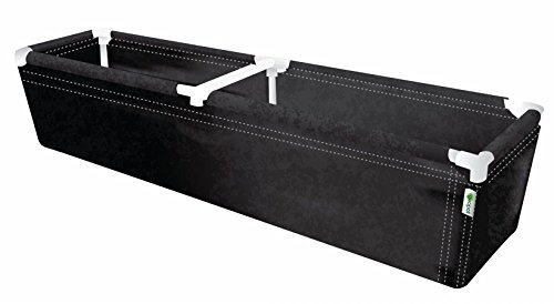 Geopot PL72X16X14 Raised Planter Bed, 72-Inch by 16-Inch by 14-Inch by GeoPot
