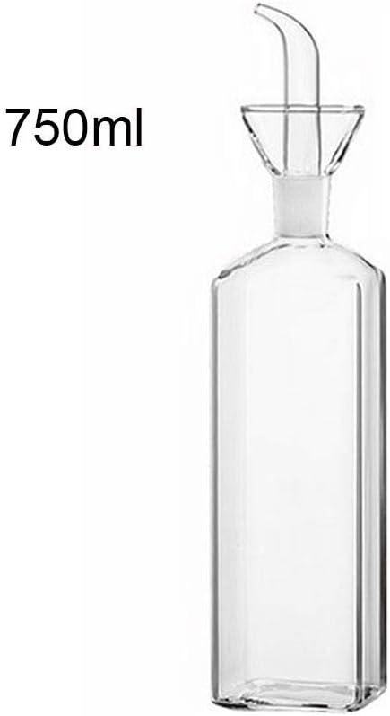 Flyvirtue Botella De Aceite De Vidrio Botellas De Vidrio Juego ...