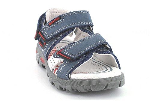 Bartek Boys Leather Sandals Ultra Light Navy Blue 46111//341 Little Kid//Big Kid