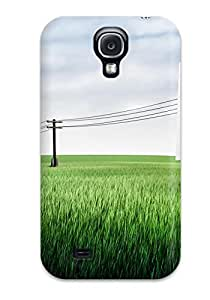 Durable Power Lines Cgi Back Case/cover For Galaxy S4