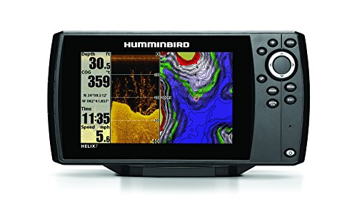 Humminbird GPS/Fishfinder with Down Imaging Sonar