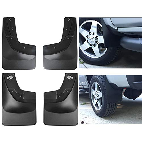 - Wyness Mud Flap Guard No-Drill Digital for 2014 2015 2016 2017 2018 Chevrolet Silverado 1500 2500HD 3500HD Pickup