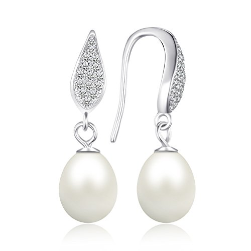 JewelryPalace Sterling Freshwater Cultured Earrings product image