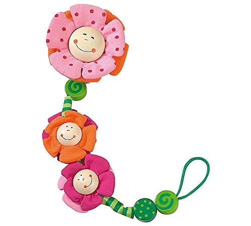HABA 1047 Blossoms Pacifier chain