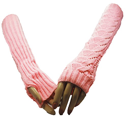 Pink Wonderland Arm Warmer Gloves