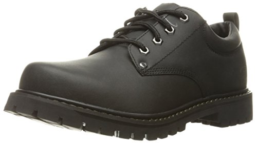 Skechers USA Men's Tom Cats Utility Shoe, Black, 12 3E US by Skechers