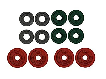 Ader Precision Color 2 Olympic Iron Plates Set 15kg-30kg