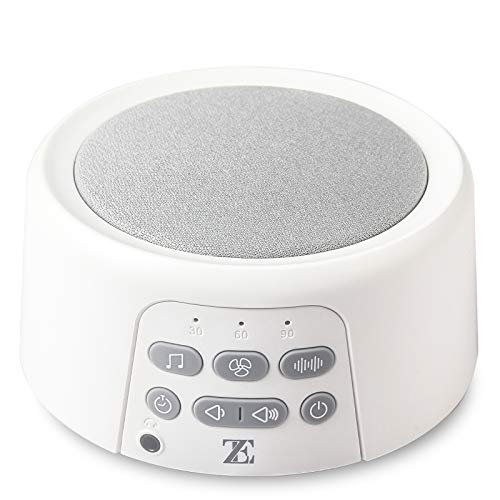 SUPSOO White Noise Machine for Sleeping, Baby Sound Machine with 21 Natural Soothing Sounds, Auto-Off Timer, Portable Sleep Sound Therapy for Office, Home, Travel