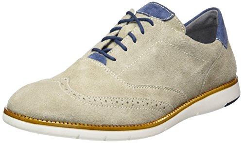 Josef Seibel Tyler 05 - Zapatos de cordones derby Hombre Beige - Beige (leinen/shark)