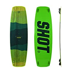 The Crisis signifies rider simplicity at its finest. With its longer slender profile, flat rocker line, and mellow single concave, the Crisis is the perfect board for beginner to intermediate kiteboaders looking for the maximum riding comfort...