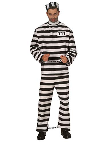 Old Time Prisoner Costumes - Rubie's Old Time Prisoner Costume for