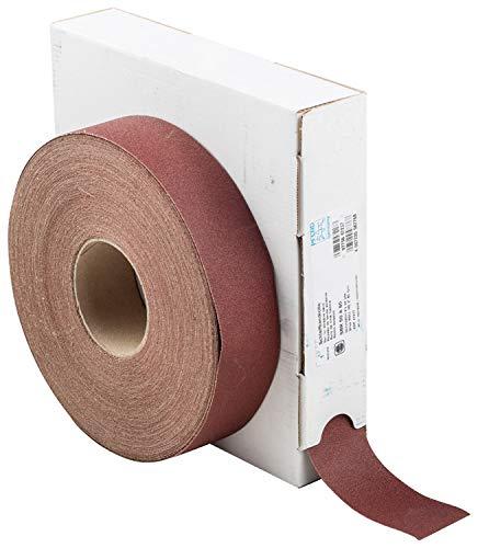 PFERD 47217 Heavy-Duty Abrasive Shop Roll, Aluminum Oxide, 50 yd. Length x 2' Width, 80 Grit