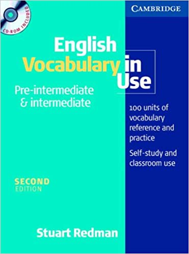 English Vocabulary In Use Pre-intermediate And Intermediate Book