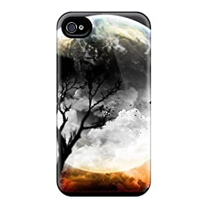 Fashion Protective Abstact (53) Case Cover For Iphone 4/4s by supermalls