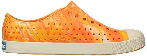 Orange White Shell native Fashion Slip Sunset Men's Jefferson Marbled Marble Sneaker wzP80Cqw