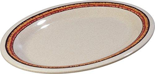 Carlisle 43083908 Mosaic Durus Oval Platter Tray, 12