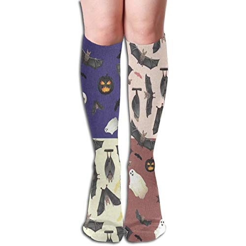 - Socks Halloween Bat Ghost and Skull Customized Womens Stocking Party Sock Clearance for Girls