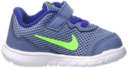 Nike Flex Experience 4 (Tdv), Zapatos de Primeros Pasos para Bebés Azul (Azul (Ocn Fg / Elctrc Grn-White-Dp Ryl))