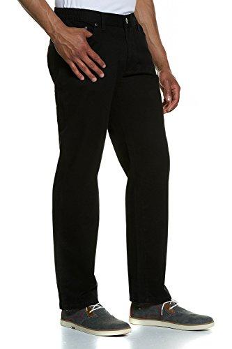 JP 1880 Homme Grandes tailles Pantalon Nanotherm noir 64 702539 10-64