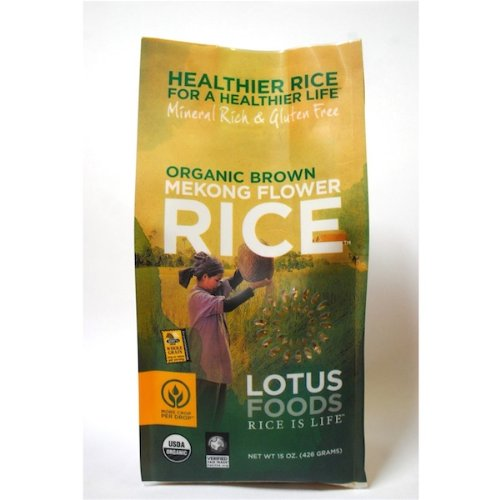 Lotus Foods Forbidden Black Rice ( 6x15 OZ)