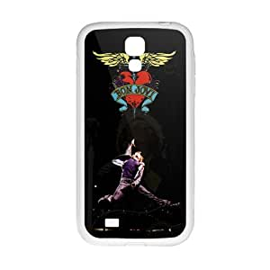 RHGGB Bon Jovi Heart And Dagger Cell Phone Case for Samsung Galaxy S4
