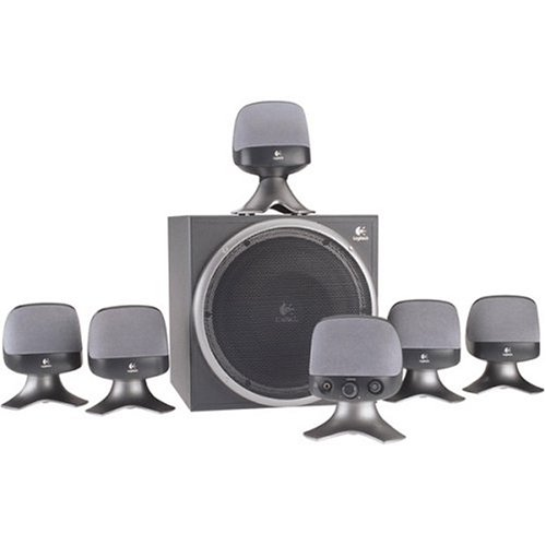 Logitech X620 6.1 Computer Speakers with Surround Sound