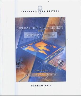 Download Operations Management for Competitive Advantage: AND Study