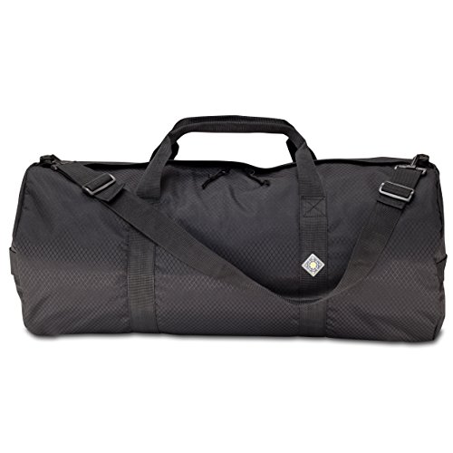 Series Cargo Bag - Northstar SD 1430 Diamond Ripstop Series Gear and Duffle Bag, 14 x 30-Inch, Midnight Black