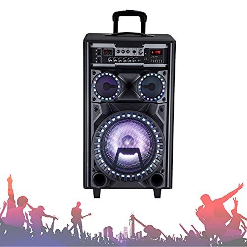 Luidspreker 10 Inch High Power Outdoor Bluetooth-Luidspreker Subwoofer Draadloze Outdoor Indoor Party-Luidspreker…