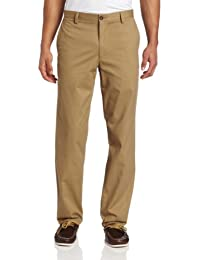 Men's Easy Khaki D2 Straight-Fit Flat-Front Pant