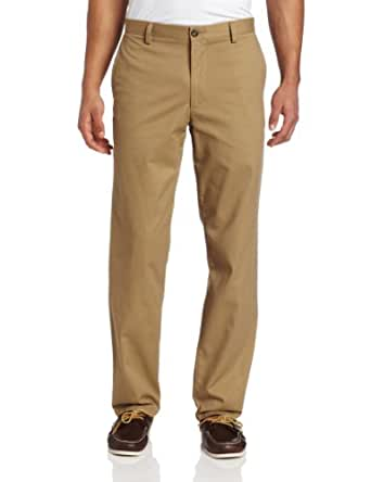 Dockers Men's Easy Khaki D2 Straight-Fit Flat-Front Pant, 29W x 32L, New British Khaki