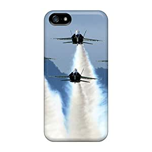 New Us Navy Blue Angels On Delta Formation Tpu Skin Case Compatible With Iphone 5/5s