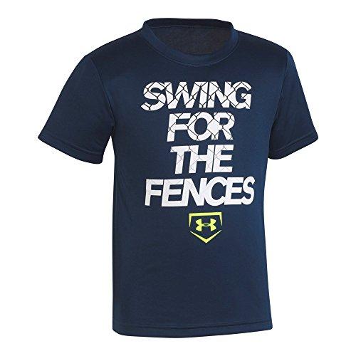 Six Fences - Under Armour Little Boys' Swing For The Fences Short Sleeve T-Shirt, Academy, 6