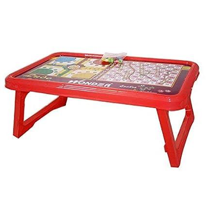 innovative design 015ad d4e04 Wonder Ludo Plastic Bed Table for Kids,Gift Item, 1 Pc ...