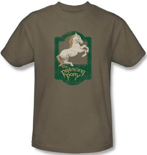 Lord of the Rings – Prancing Pony T-Shirt – LOTR