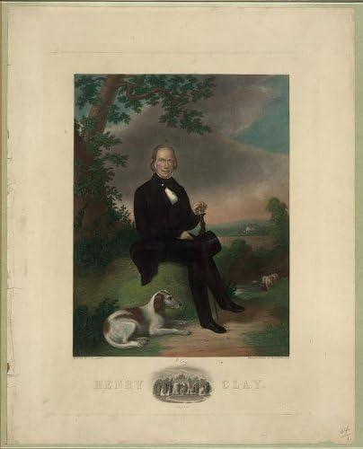 INFINITE PHOTOGRAPHS Photo: Henry Clay, Ashland, Lexington, Kentucky, United States Senator, American Politician Size: