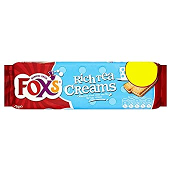 Fox Rich Tea Cremes 175g (Packung mit 12 x 175g)