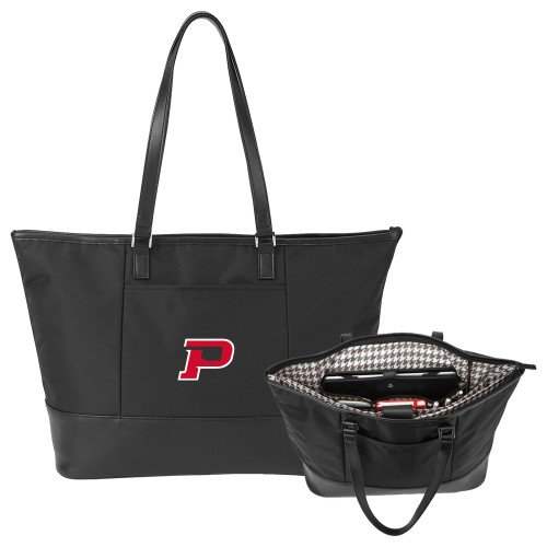 OPSU Aggies Stella Black Computer Tote 'Primary Mark' by CollegeFanGear