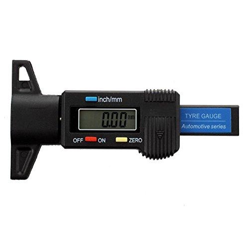 Tyre tread gauge - TOOGOO(R)Digital depth gauge caliper tread depth gauge LCD Tyre tread gauge