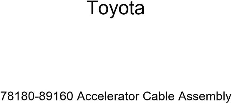 Toyota 78180-1B090 Accelerator Cable Assembly