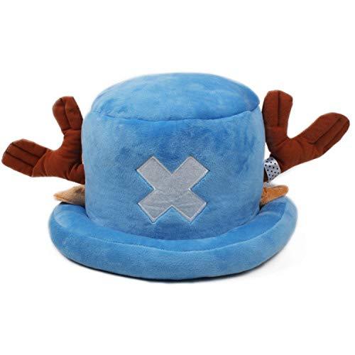 Cute Japanese Anime Hat Cap One Piece Tony Chopper Cosplay Plush Cap Hat Halloween Cartoon Hats & Caps