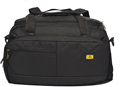 Liviya bt434 20 inch/50 cm  Expandable  Travel Duffel Bag Black